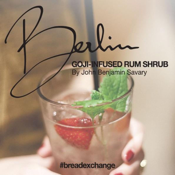 Goji-Rum-Shrub